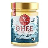 Himalayan Pink Salt Grass-Fed Ghee Butter by 4th & Heart, 9 Ounce,...