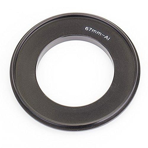 Pixco 55mm\67mm\72mm\ Filter Thread Lens, Macro Reverse Ring Camera Mount Adapter voor Nikon D5300 D3300 Df D610 D4 D5100 D7000 Camera, 67mm