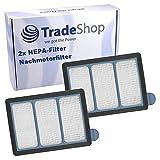 2x HEPA Nachmotorfilter Abluftfilter ersetzt 914324-11