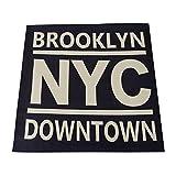 スミノエ 丸洗いできる シェニール ラグ NYC 185×185cm ブルー 11744936