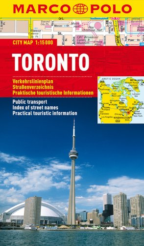 MARCO POLO Cityplan Toronto 1:15 000: Stadsplattegrond 1:15 000 (MARCO POLO Citypläne)