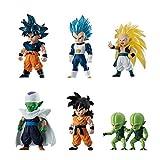 Bandai Shokugan Dragon Ball Adverge 11 Action Figure (Set of 6)