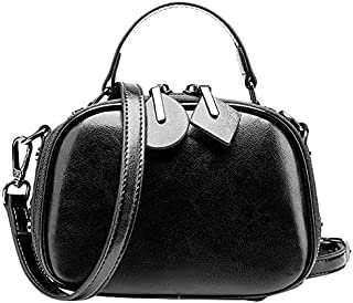 TOOGOO Fashion Women Leather Handbags Messenger Bags for Women Brown