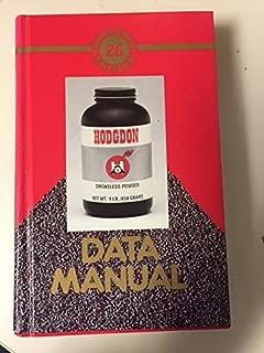 HODGDON DATA MANUAL NO. 26