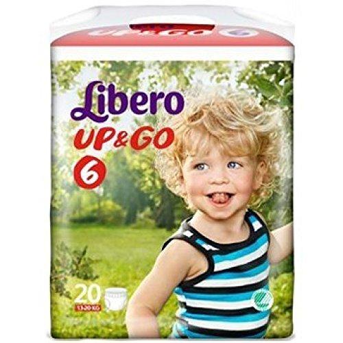 Up&Go Libero Pannolini 6, 20 Pezzi - 10 ml