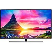 """Samsung TV NU8075 Smart TV de 55"""" 4K HDR 10+ (Pantalla Slim, Quad-Core,4 HDMI, 2 USB),Color Negro(Slate Black + Carbon Silver), Clase de eficiencia energética A"""