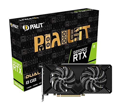 Palit GeForce RTX 2060Super Dual 8GB Grafikkarte - DVI, DisplayPort, HDMI