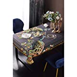 Lisi Velvet Love Horse Series Quaste Tischdecke Retro-Esstisch und Teetisch-Dekorationstuch Dicke Haushalts-Esstisch-Cover, geeignet für den Außenküche Picknick Indoor