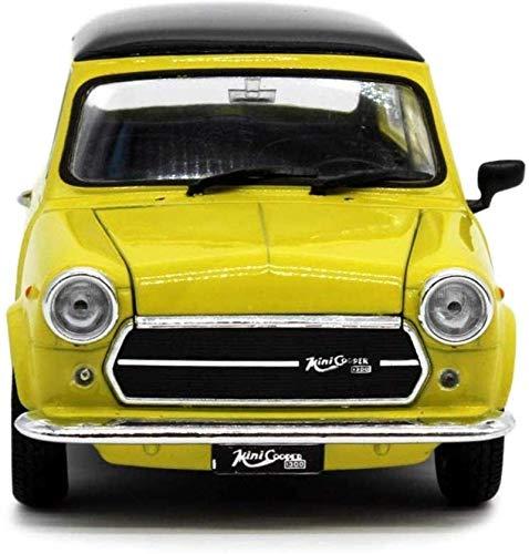 Etrustor Auto Modell 1: 24mini Cooper 1300 Simulation Legierung Druckguss Spielzeug Schmuck Sport Autosammlung