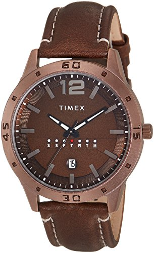 TIMEX Analog Brown Men Watch TW000U936
