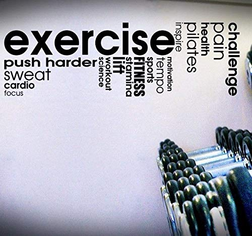 Exercisepilatessweat Quote Decal Exercise Fitness Inspire Cardio Wall Life
