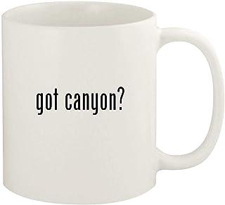got canyon? - 11oz Ceramic White Coffee Mug Cup, White