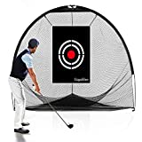 GALILEO Golf Nets Golf Practice Net Hitting Netting for Backyard Portable 8x7x7FT Driving Range Golf Cage Indoor Golf Net Training Aids with Target