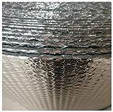 Autoadhesivo Reflector De Calor Aislamiento Rollo Aislante Térmico De Aluminio Rollo Aislante Termico Para Reflector De Calor,áticos Impermeables, Ventanas, Garajes,Conductos Y M(Color:4mm,Size:1x15m)