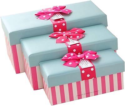 HAPPY TREE Cajas de Regalo para Regalos Dulces de Navidad Caja de ...