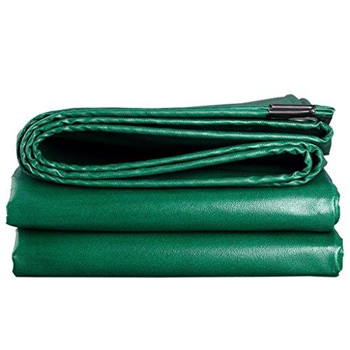 ZZYE Lona Tarpa de Trabajo Pesado Verde 100% a Prueba de Agua, underla de Tiendas Resistentes para Acampar y al Aire Libre, Grosor 0.5mm, 580 g/m² Lona Impermeable (Size : 3MX2M)