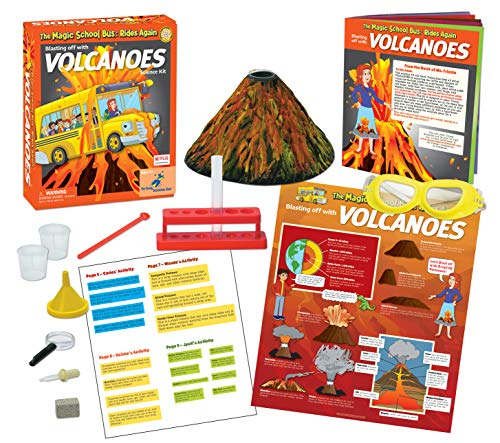 Magic Schoolbus Blasting Off with Volcanoes Science Kit For Kids
