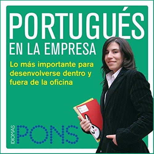 Portugués en la empresa [Portuguese in the Office] audiobook cover art