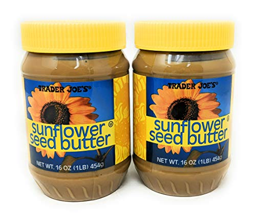 Trader Joe's Sunflower Seed Butter 16oz (454g), 2 Pack