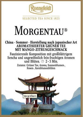 Grüntee aromatisiert, Morgentau, Ronnefeldt, 1250g