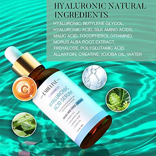5172kvLuZ7L. SL500  - Emieline Anti Aging Serum, Vitamin C Serum, Retinol Serum, Hyaluronic Acid Serum, Face Serum Set Natural Organic with Apply to Brightening, Anti Wrinkle, Dark Spot Corrector for Face, Moisturizing