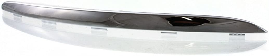 Bumper Trim compatible with Volkswagen Jetta 05-10 Front RH Molding Chrome Right Side