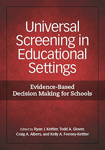 Universal Screening in Educational Settings: Evidence-Based Decision Making for Schools (English Edition)