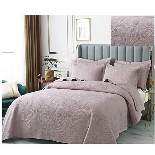 YFWJD Bettwäsche 3 teilig Mikrofaser Mikrofaser Bettdecke für Schlafzimmer Stepp Decke Super Weich & Komfort Geeignet für Bett,#7,250 * 270cm