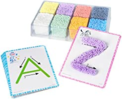 Educational Insights Playfoam Shape & Learn Alphabet Set | Non-Toxic, Never Dries Out | Preschoolers Practice Letter...