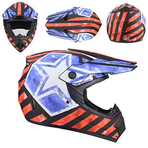 Volwassen Motocross Helm Jeugd Kids Offroad Damesfiets ATV Volledige Gezicht Sport Helm Off Road Motorfiets Racing Stijl