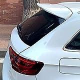 ABS Coche Tronco Alerón Trasero para Audi A3 S3 2014 2015 2016 2017 2018, Trunk Techo Spoiler Lip Wing, Alerón Labio Del Maletero Tail Lip Wing Accesorios