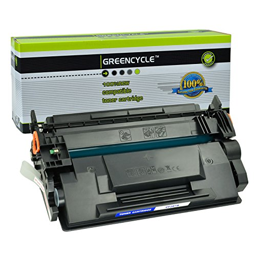 GREENCYCLE Compatible for HP 87A CF287A Toner Cartridge Replacement Used in Laserjet Enterprise M506 M506dn Laserjet MFP M527dn M527f Laserjet Pro M501n M501dn Series Printer (Black, 1-Pack)