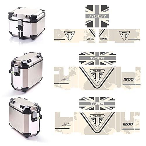 Kit de pegatinas para maletas, Triumph Expedition Tiger 1200 V-TR-TIGER (Desert Edition)