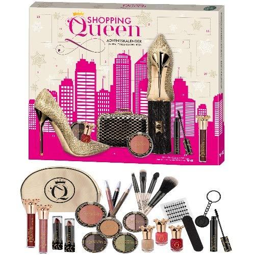Shopping Queen Kosmetik Adventskalender Beauty Surpris 24 teilig by Cosmelux (ee20)