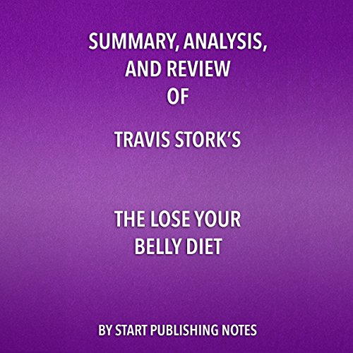 『Summary, Analysis, and Review of Travis Stork's The Lose Your Belly Diet』のカバーアート