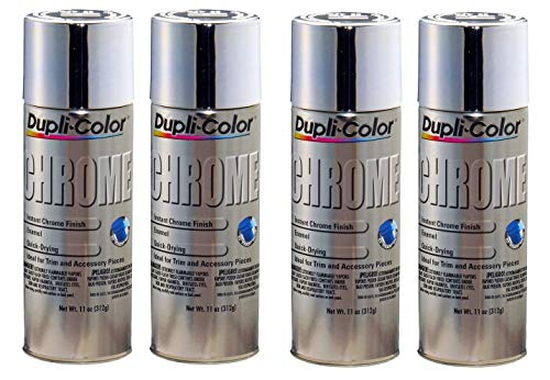 Dupli-color cs101 instant chrome finish 11 oz. Aerosol (4 pack) (4...