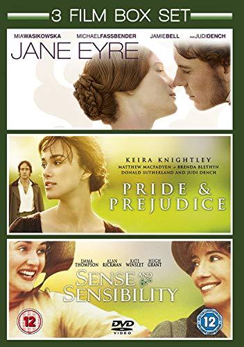 Jane Eyre (2011) / Pride And Prejudice (2005) / Sense And Sensibility (1996) [Edizione: Regno Unito]