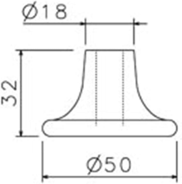 haute qualit/é test/ée par le T/ÜV/&GS Stiftdurchmesser:/Ø 10 mm Stift Patins de chaise Patins de sol pour chaise de bureau Si/ège pivotant 5er en argent capacit/é de charge jusqu/à 30 kg par patin
