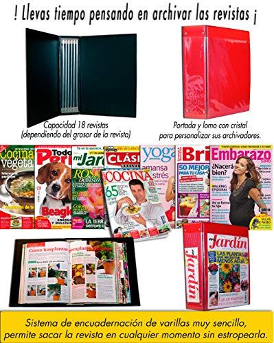 Archivador revistas Sistema encuadernación