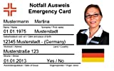 F.S.D. - Notfallausweis -