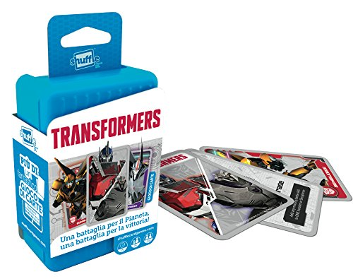 Cartamundi - Transformers, Juego de Cartas (10.02.11.064)