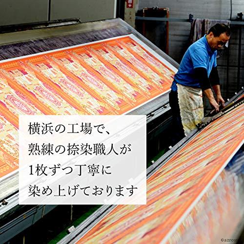 .Yドットワイ横浜スカーフシルク100%日本製大判正方形フィレンツェプリマヴェッラ(ネイビー)