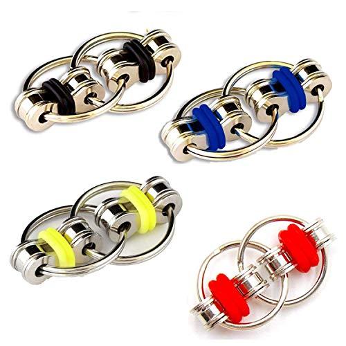 Topways® Flippy Chain Fidget Toy , Unendlicher Flip Chain Dekompression Stressreduzierer entlasten Kreative Stressabbaukette Spielzeug