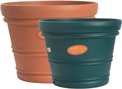 Amazon.com: 8 haowenju Gallon Pots, macetas de plástico ...