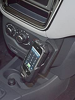 KUDA 038035 Halterung Kunstleder schwarz für Dacia Lodgy ab 2012 / Dokker ab 2013