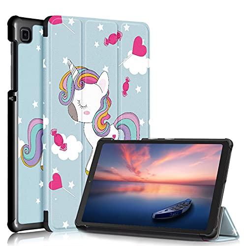 XINKO Funda para Samsung Galaxy Tab A7 Lite 8.7 pulgadas 2021 SM-T220/T225, Premium PU Funda de piel sintética, anti-caída, funda delgada con tapa para Samsung Galaxy Tab A7 Lite 2021-7