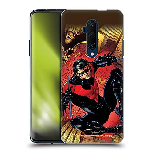 Head Case Designs sous Licence Officielle Batman DC Comics Costume Logo Rouge # 1 2011 Nightwing Coque Dure pour l'arrière Compatible avec OnePlus 7T Pro