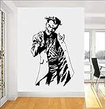 autocollant mural Batman sticker mural Superhero Thème Joker Design Intérieur Décor À...