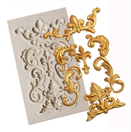 Erfhj Pco Border siliconenvorm, fondant, taartdecoratie, chocoladevorm