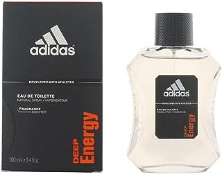 Adidas Deep Energy For Men, Eau de Toilette Spray, 100 ml